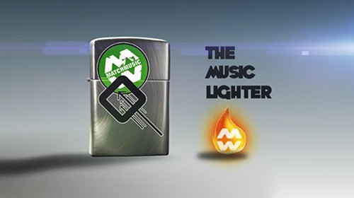 The Music Lighter